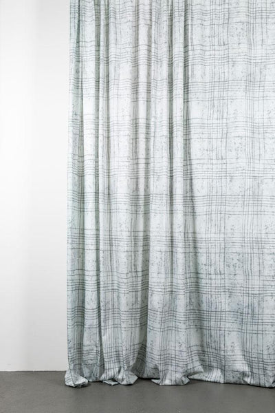 "Artist Cotton Curtains - Wax Field Artist Cotton Curtains 300cm /118""Wide By Martina Vontobel"