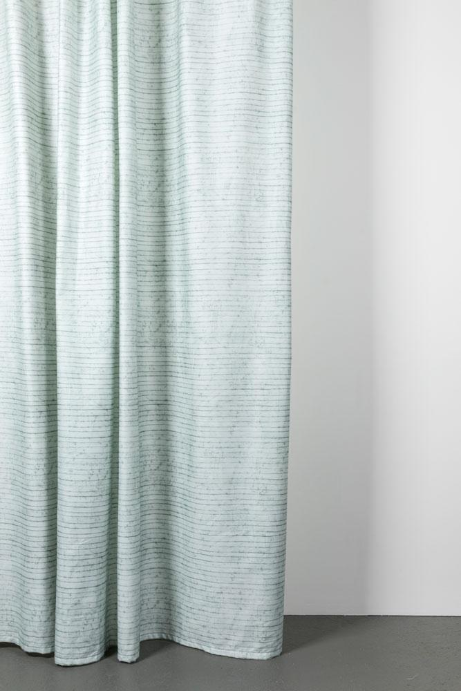 "Artist Cotton Curtains - Wax Line Artist Cotton Curtains 300cm /118""Wide By Martina Vontobel"