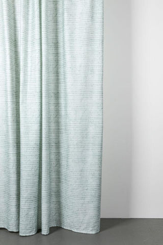 "Wax Line Artist Cotton Curtains 300cm /118""Wide by Martina Vontobel"