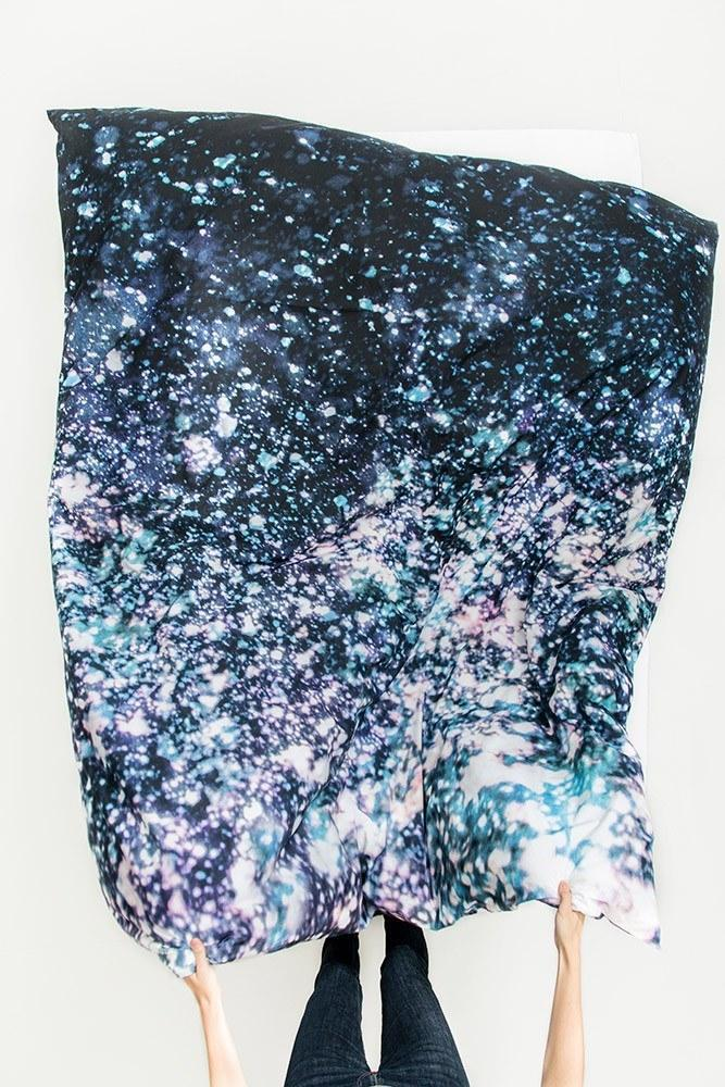 Asleep in the Stars Artist Duvet Covers and Pillows by Carmen Boog - ZigZagZurich  - 1