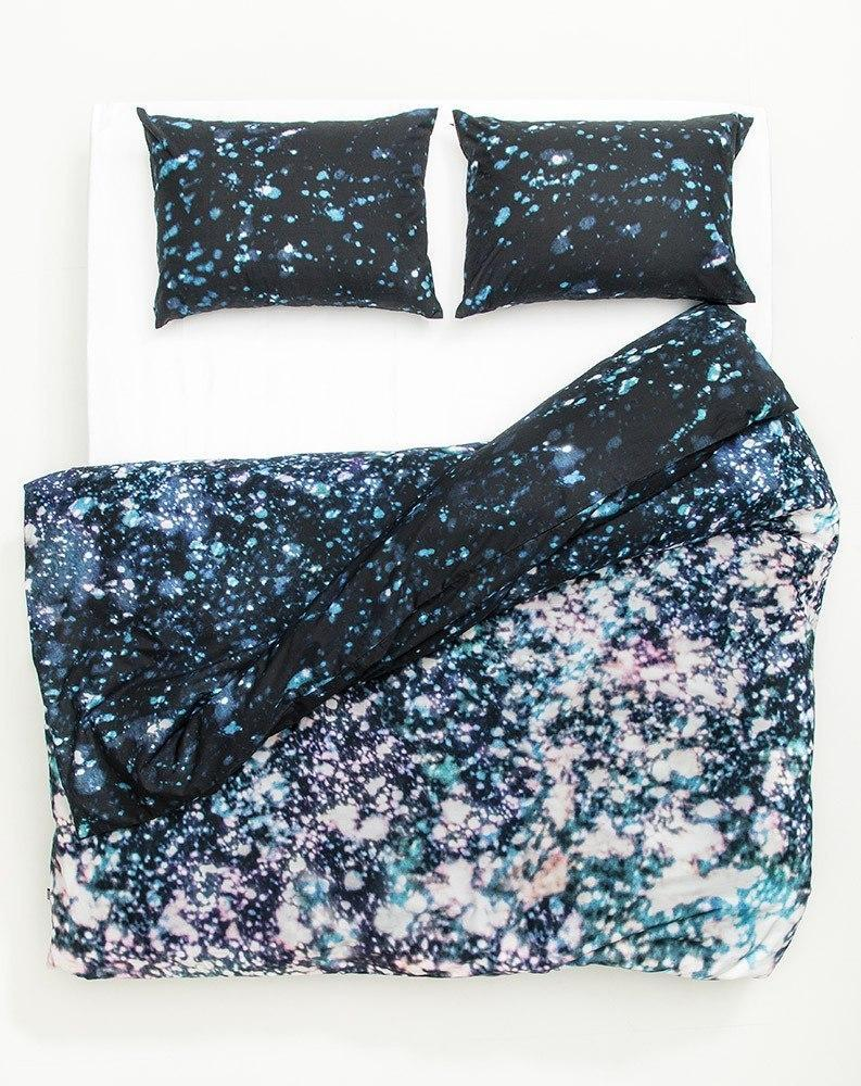 Artist & Designer Bedding Collection - Asleep In The Stars Artist Duvet Covers And Pillows By Carmen Boog