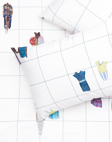Closet Queens Artist Duvet Covers and Pillows by Rebekka Stange - ZigZagZurich  - 1