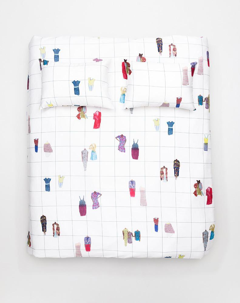 Closet Queens Artist Duvet Covers and Pillows by Rebekka Stange - ZigZagZurich  - 3
