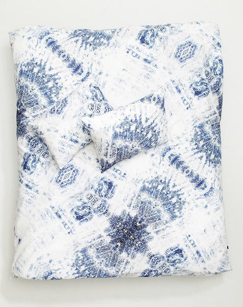 Denim Kaos Artist Duvet Covers and Pillows by Carmen Boog - ZigZagZurich  - 1