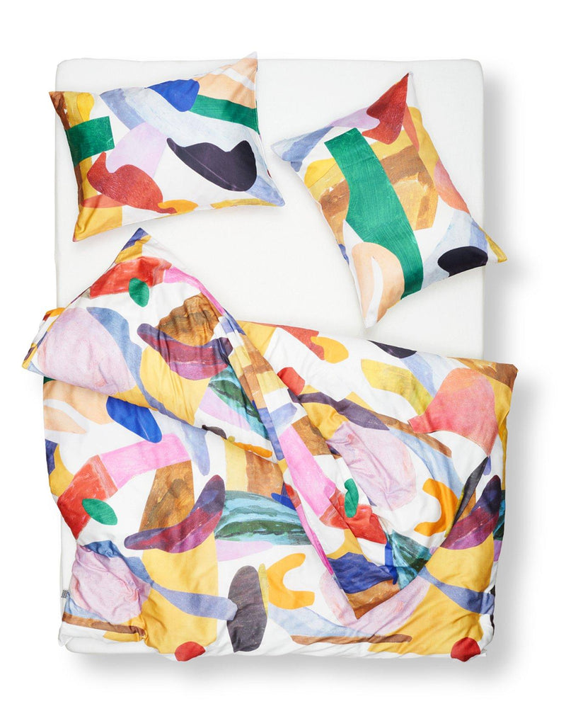 Artist & Designer Bedding Collection Kuenstler Bettwaesche - Dirk Artist Duvet Covers / Pillows By B.D. Graft
