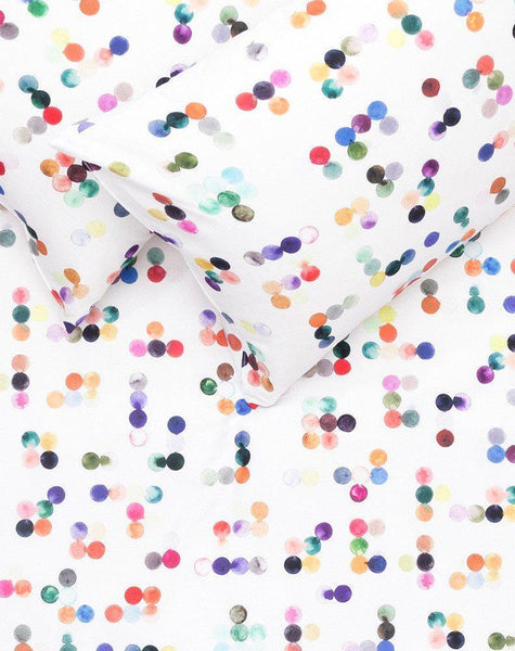 Dotty Artist Duvet Covers and Pillows by Sophie Probst - ZigZagZurich  - 1