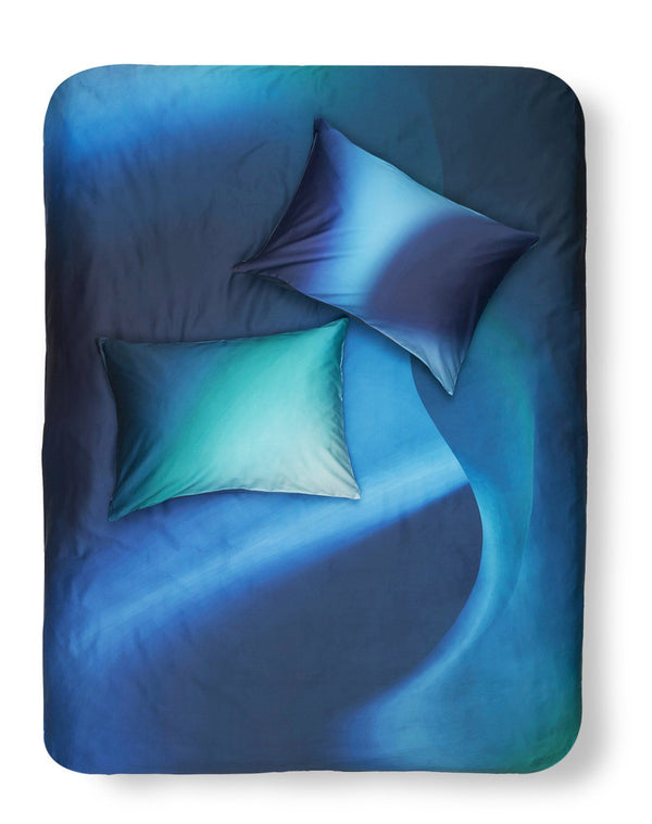 Artist & Designer Bedding Collection Kuenstler Bettwaesche - Northern Lights Artist Duvet Covers / Pillows By Celine Cornu