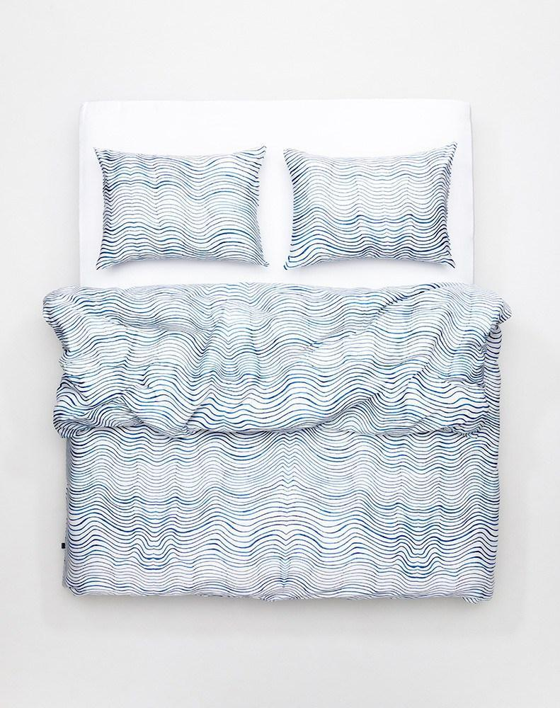 Artist & Designer Bedding Collection - Okinawa Vibe Artist Duvet Covers And Pillows By Caitlin Foster