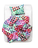 Artist & Designer Bedding Collection - Pixel Pop Artist Duvet Covers And Pillows By Sunny Todd Prints