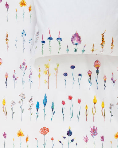 Simply Blumen - Designer Duvet Covers / Pillows by Karina Eibatova