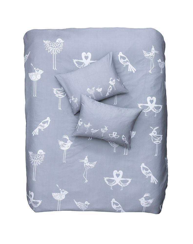 Artist & Designer Bedding Collection - The Lovebirds Artist Duvet Covers And Pillows By Natalie Born