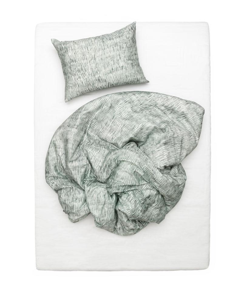 Artist & Designer Bedding Collection - WAX Grass Artist Duvet Covers And Pillows By Martina Vontobel
