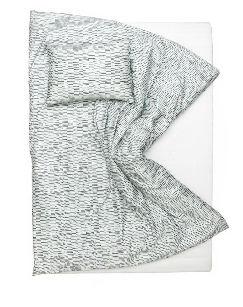 Artist & Designer Bedding Collection - WAX Layer Artist Duvet Covers And Pillows By Martina Vontobel