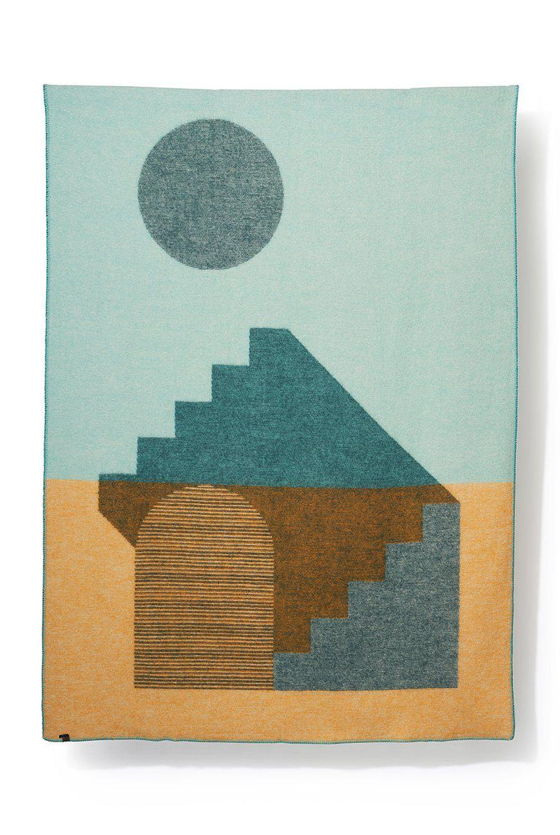 Artist Wool Blankets - Aspect Wool Blanket By Yanyi Ha
