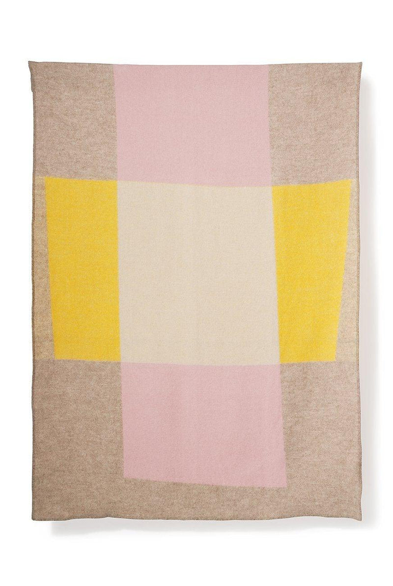 Artist Wool Blankets - Bauhaused 3 Wool Blanket By Michele Rondelli