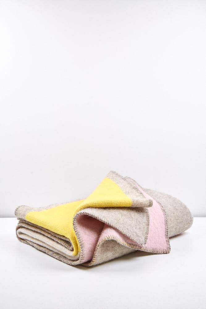 Artist Wool Blankets - Bauhaused 3 Wool Blanket By Michele Rondelli & Sophie Probst