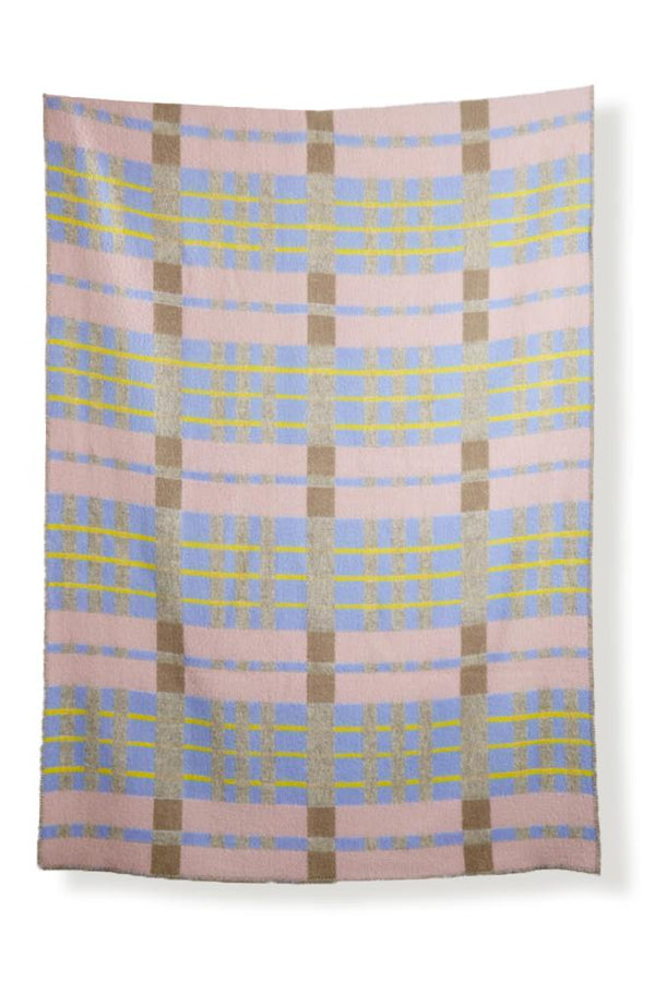 Wolldecken Artist Wool Blankets - Bauhaused 4 Wool Blanket By Michele Rondelli & Sophie Probst