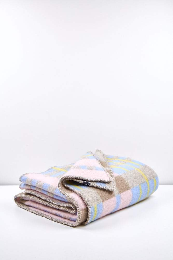 Artist Wool Blankets - Bauhaused 4 Wool Blanket By Michele Rondelli & Sophie Probst