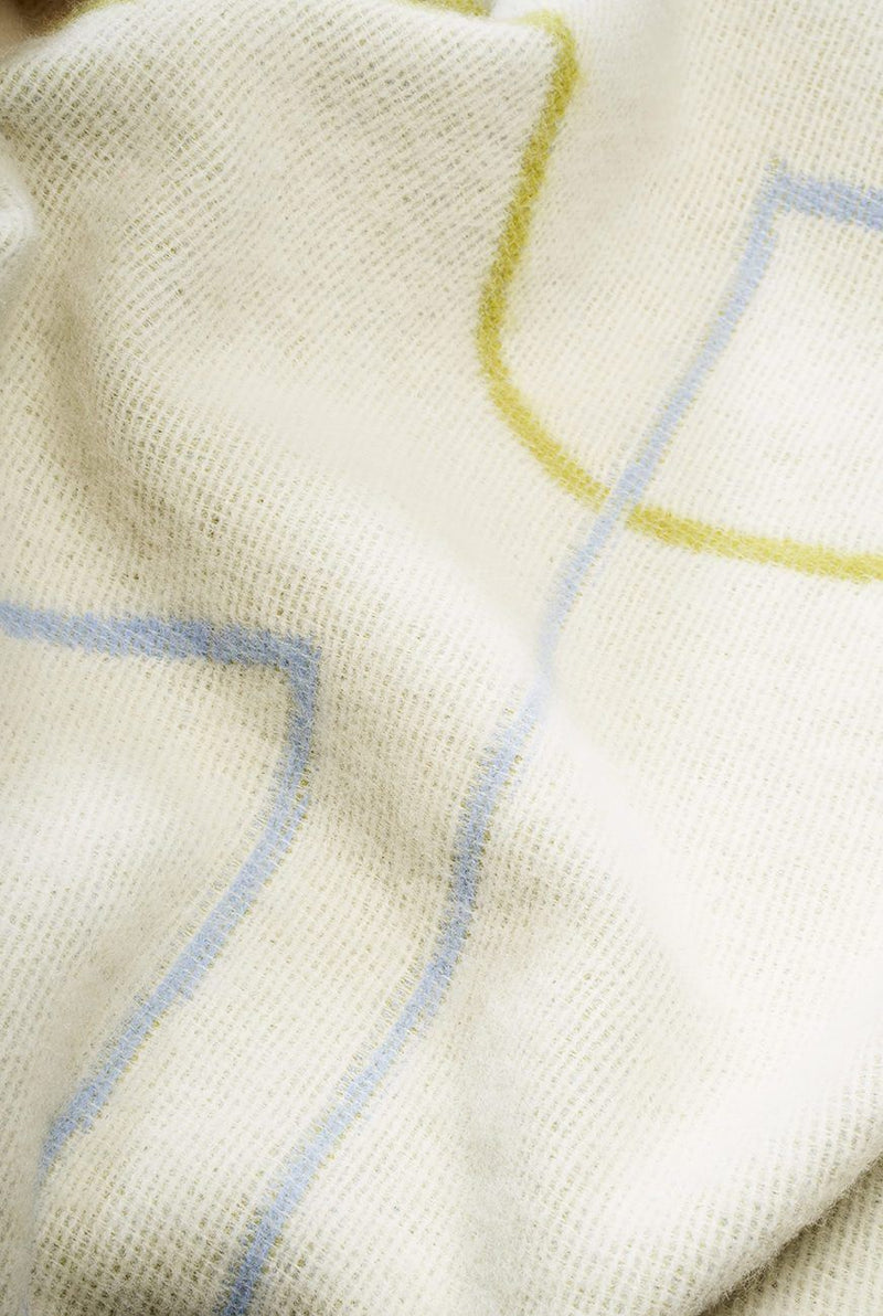Artist Wool Blankets - Besalu Wool Blanket By Kelly Knaga