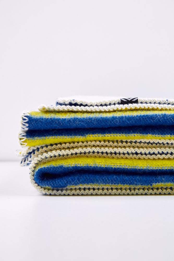 Artist Wool Blankets - CHECKMATE Wool Blanket By Michele Rondelli