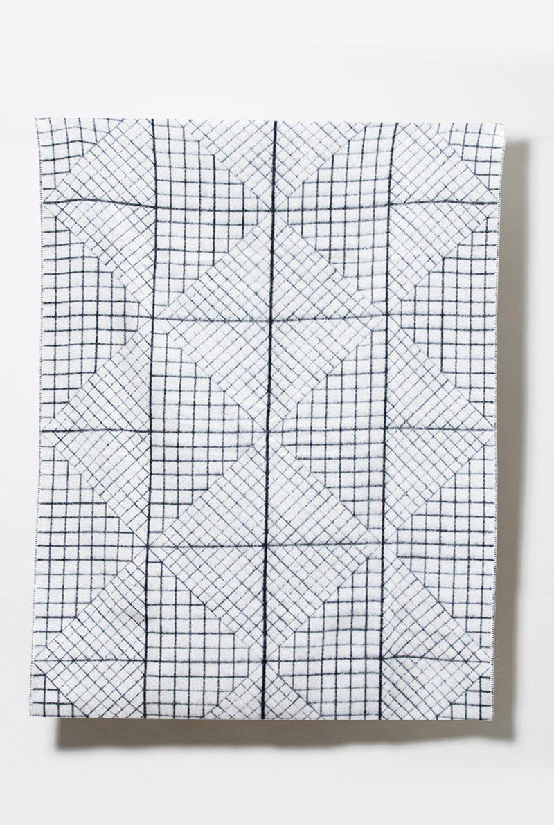 Artist Wool Blankets - Graph New Zealand Wool Blanket By Moonish
