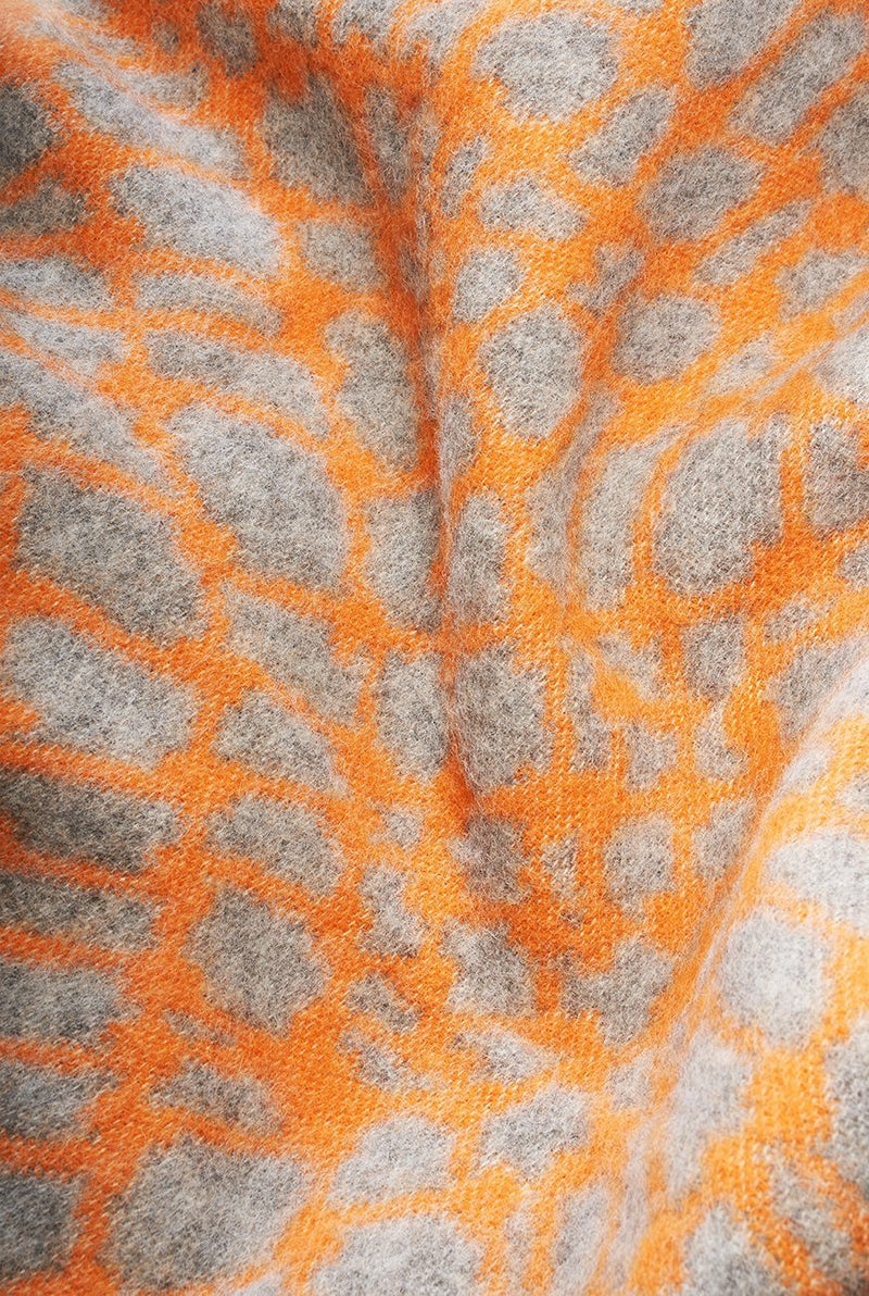 Artist Wool Blankets - Wired One Wool Blanket By Denise Carbonell
