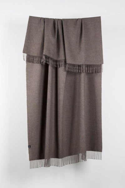 Brown XL Baby Alpaca Throws & Shawls 200cm / 78