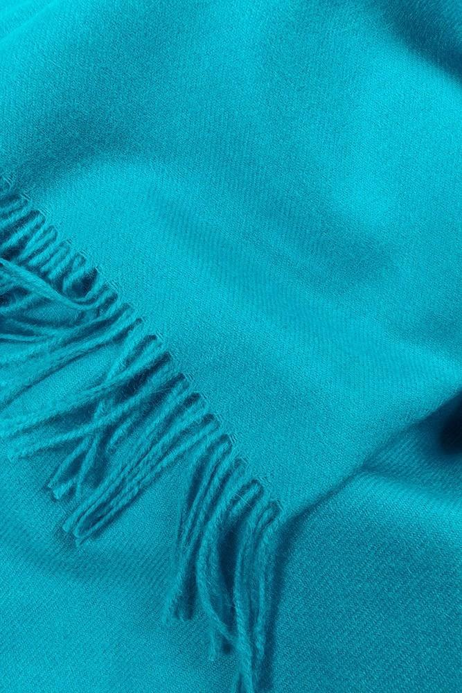Baby Alpaca Throws - Cyan XL Baby Alpaca Throws & Shawls 200cm / 78""