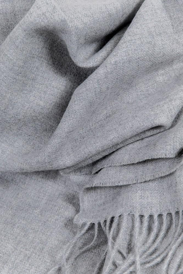Baby Alpaca Throws - Heather Gray XL Baby Alpaca Throws & Shawls 200cm / 78""