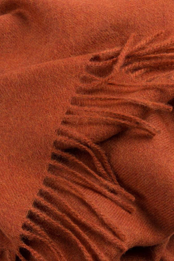 Baby Alpaca Throws - Saffron Orange XL Baby Alpaca Throws & Shawls 200cm / 78""