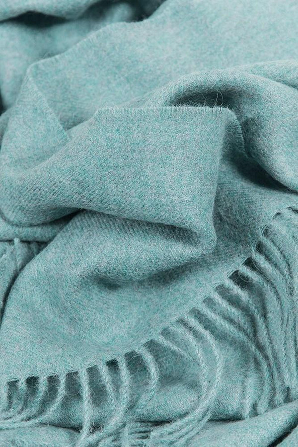 Baby Alpaca Throws - Turquoise XL Baby Alpaca Throws & Shawls 200cm / 78""