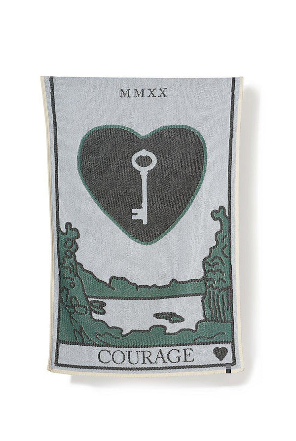 Beach Towels / Mini Blankets - Courage Beach Towels / Mini Blankets - By Sophie Probst & Michele Rondelli