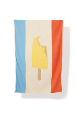 Beach Towels / Mini Blankets - Gelato Cotton Beach Towels / Mini Blankets - By Michele Rondelli