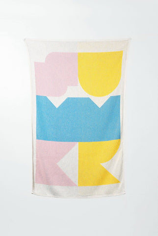 Summer Cotton Beach Towels / Mini Blankets by Gabriel Nazoa