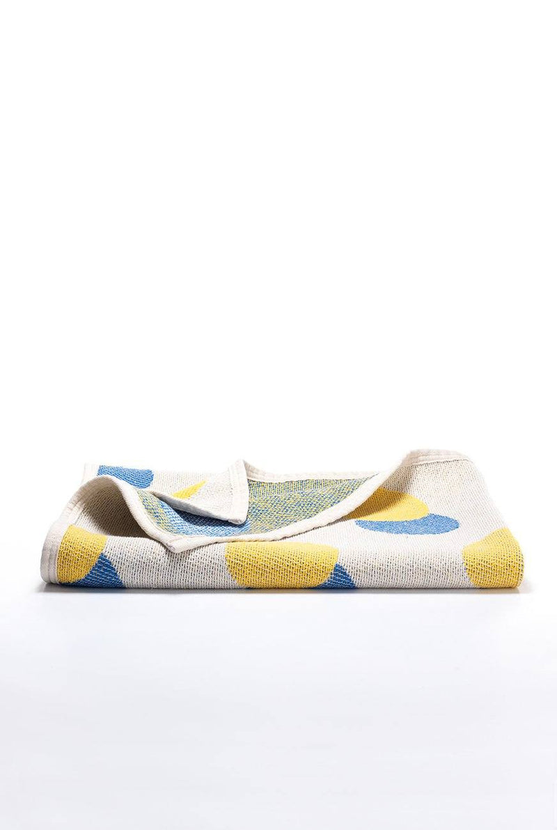 Beach Towels / Mini Blankets - Tokio 1 Cotton Beach Towels / Mini Blankets By Michele Rondelli