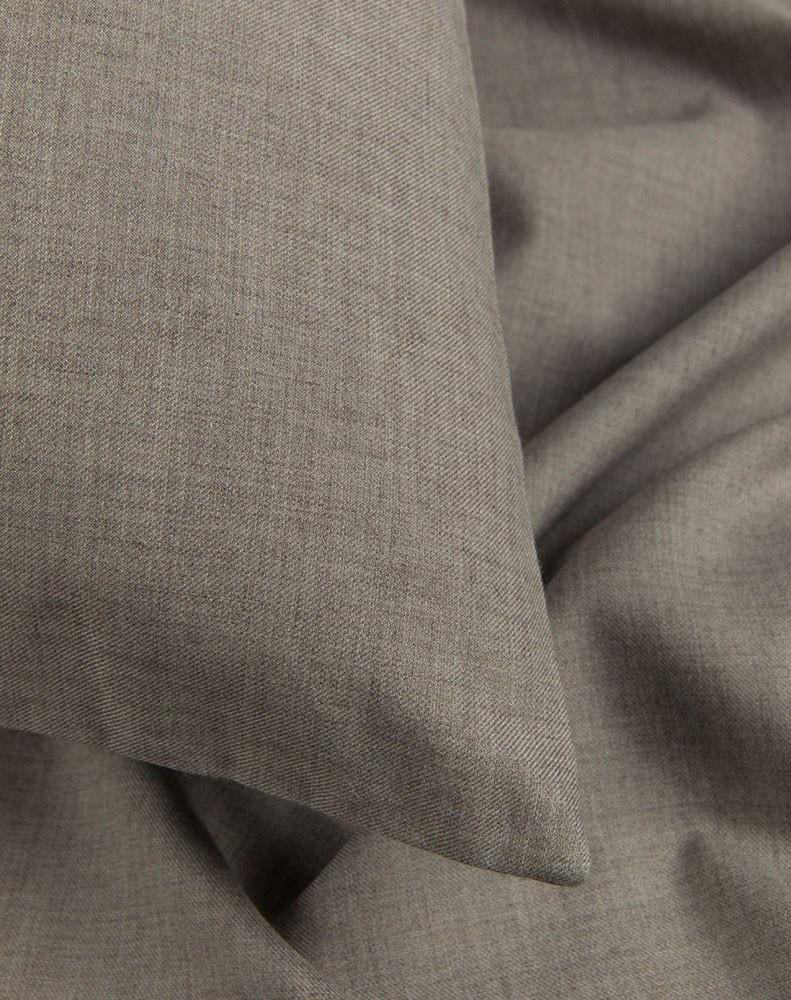 Cashmere Cotton Bedding - Cashmere Cotton Duvet Covers / Pillows - Grey