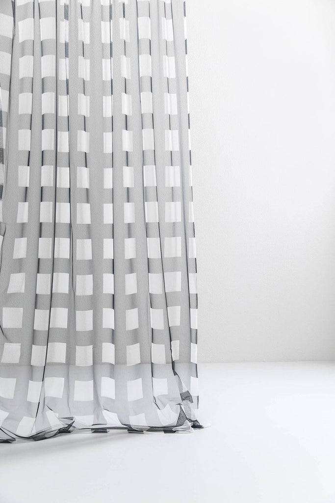 CoopDPS Gate Tulle Curtain / Drapery Fabric - ZigZagZurich  - 1