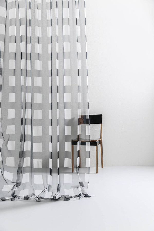 CoopDPS Curtain - CoopDPS Gate Tulle Curtain / Drapery Fabric