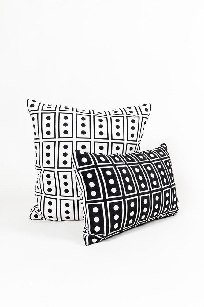 CoopDPS Cushions - CoopDPS Japan Pillows/Cushions By Nathalie Du Pasquier & George Sowden
