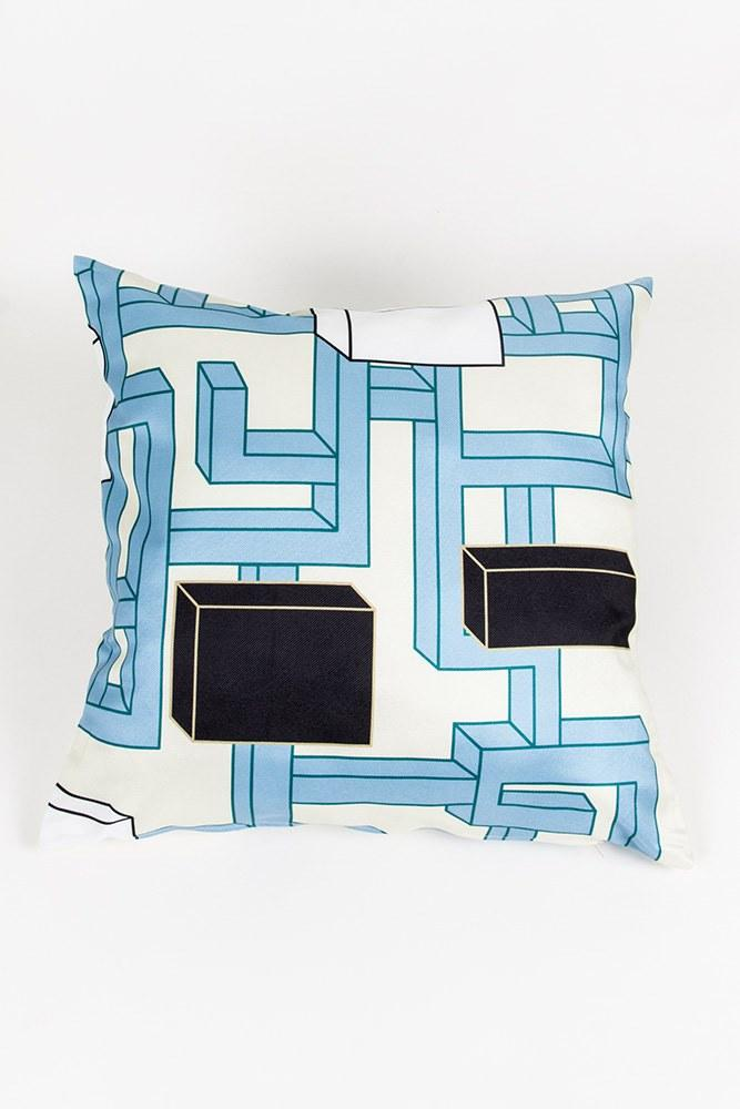 CoopDPS Cushions - CoopDPS Maze Pillows & Floor Cushions By Nathalie Du Pasquier & George Sowden