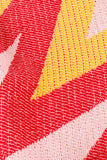 Cotton Blankets & Throws - BANG! Artist Cotton Blankets & Throws By Liz Collins  - Red