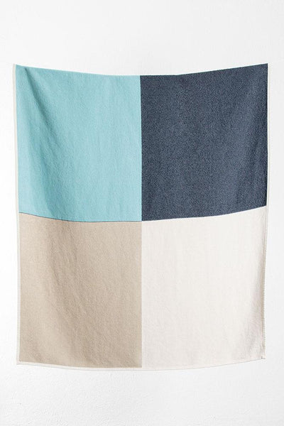 Flagged Cotton Blankets & Throws by Michele Rondelli