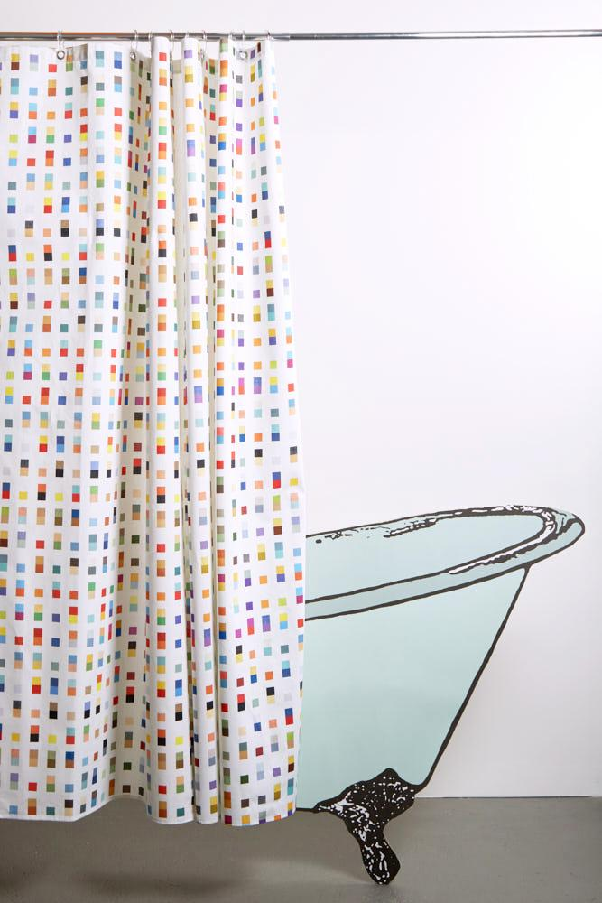 Cotton Shower Curtains - Coastal Artist Cotton Shower Curtain ( Waterproof ) By Matthew Korbel-Bowers