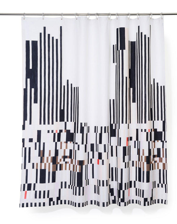 Cotton Shower Curtains - Eanalyzer Artist Cotton Shower Curtain ( Waterproof ) By Jenny Mcgeed Dougherty