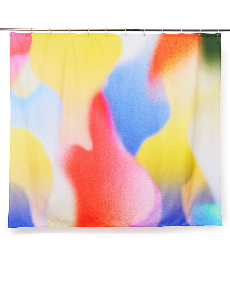 Cotton Shower Curtains - Flame Artist Cotton Shower Curtain ( Waterproof ) By Sophie Probst