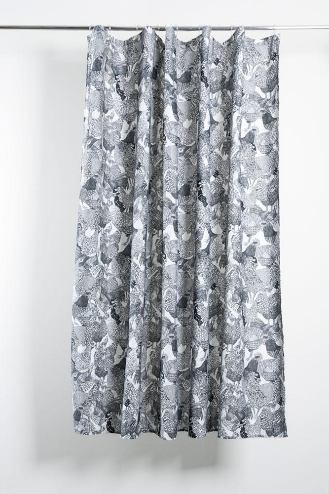Cotton Shower Curtains - Hot Chicks Artist Cotton Shower Curtain ( Waterproof ) By Sophie Probst