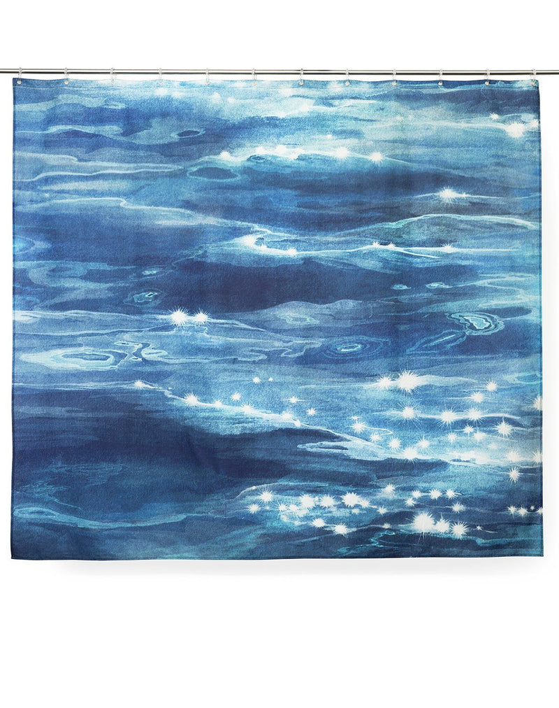 Cotton Shower Curtains - Reflection Artist Cotton Shower Curtain ( Waterproof ) By Karina Eibatova