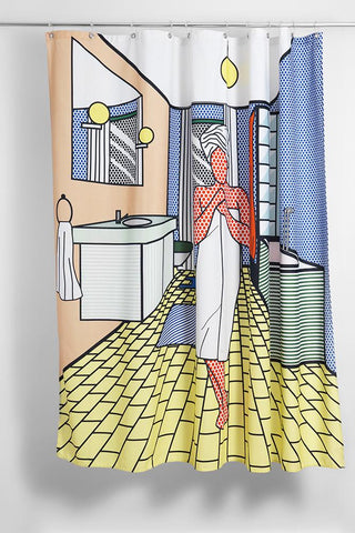 Roy`Ally Clean Artist Cotton Shower Curtain ( Waterproof ) by Sophie Probst