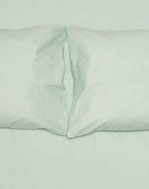 Mint Percale Egyptian Cotton Duvet Covers / Pillows Ägyptischer Baumwolle Bettwäsche