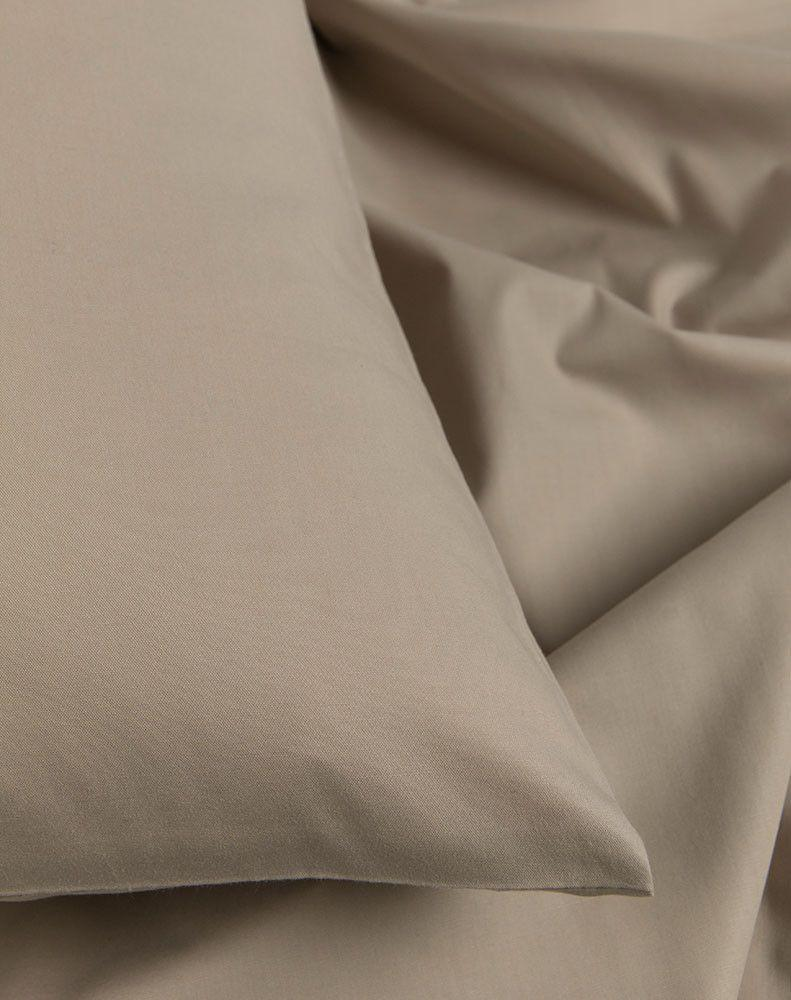 Egyptian Cotton Percale Duvet Covers - Sand Percale Egyptian Cotton Duvet Covers / Pillows